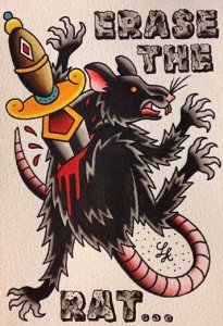 Erase the rat !